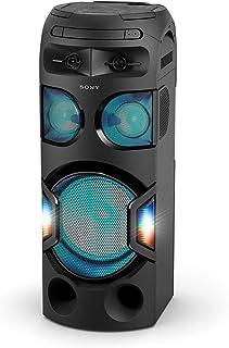 نظام الموسيقى المحمول سوني MHC-V71D مع ضوء 360 درجة (اسود )