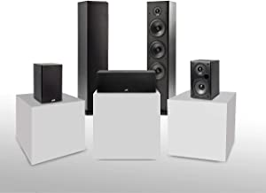 Polk Audio T Series 5 Channel Home Theater Bundle   Includes Two (2) T15 Bookshelf, One (1) T30 Center Channel & Two (2) T...