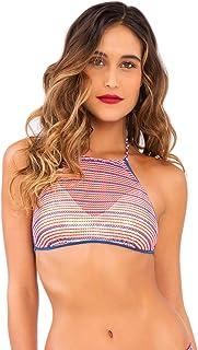 Luli Fama womens L494420 Bikini Top