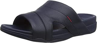 Fitflop Men's Freeway Iii Slide - Leather Sandal