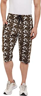 VIMAL Jonney Camouflage/Military/Army 3/4th/Capris for Men-D13_ARM-P