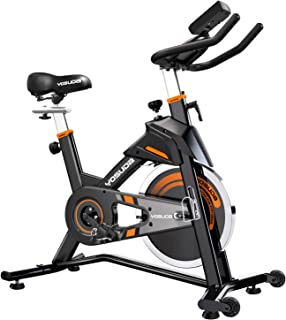 YOSUDA Indoor Cycling Bike Stationary - Exercise Bike for Home Gym with Comfortable Seat Cushion, Silent Belt Drive, iPad Holder