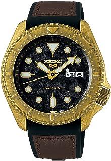 Seiko Black Sport 5 Facelift Automatic Watch SRPE80K1