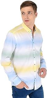 Ağrive Slim Fit Uzun Kollu Gömlek Sarı