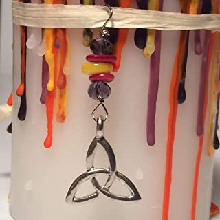 Weight Loss- Beauty -Self Confidence Wish Candle Bonus 3  Spells and Necklace, Goddess, Celtic Knot, New Years Resolution