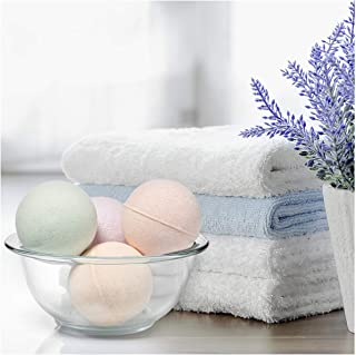 Naked Reverie Natural Bath Bombs for Women, Men & Kids - Set of 4 Organic 8 oz Extra Large Bath Bombs - With Essential Oils, Epsom Salt, Shea Butter - Luxury Body Safe Fizzies for Silky Lush Skin