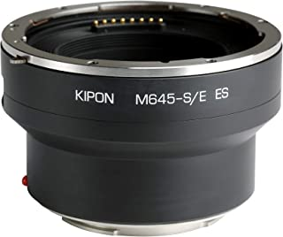 Kipon Electronic Aperture Adapter for Phase One/Schneider Brand Mamiya 645 Mount Lens to Sony E Camera