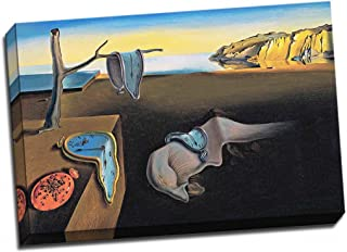 Panther Print Salvador Dali Persistance of Time Canvas Print Large 30X20 Inches A1