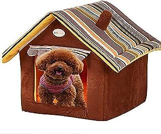 SKEIDO Kennel Teddy Bichon Pomeranian Bed Pet Products Cat House 40 cm