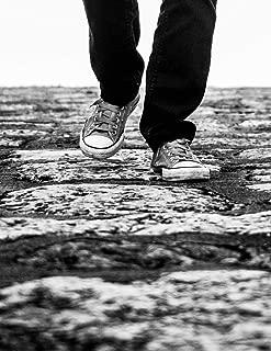 Notebook: Walking Walk Stepping Shoes Foot Feet Hiking Hike Travel
