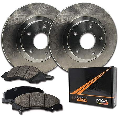 Max Brakes Rear Carbon Ceramic Performance Disc Brake Pads KT032652 Fits 2003 03 2004 04 2005 05 Nissan Murano