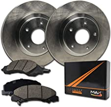 Max Brakes Rear Premium Brake Kit [ OE Series Rotors + Ceramic Pads ] KT022542 Fits: 2006-2010 Chevy Impala | 2006-2007 Monte Carlo