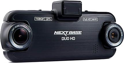 Nextbase Duo HD - Cámara de Tablero de vehículo DVR para el Interior de 1080p Delantera y Trasera de Lente Completa - Ángulo de visión de 140 ° - WiFi y GPS - Negro