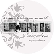 Thirstystone Stoneware Coaster Set, Laughter