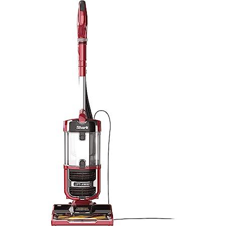 Shark ZU561 Navigator Lift-Away Speed Self Cleaning Brushroll Lightweight Upright Vacuum with HEPA Filter, Red Peony