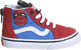 Vans Kids X Marvel SK8-Hi Zip Skate Shoes