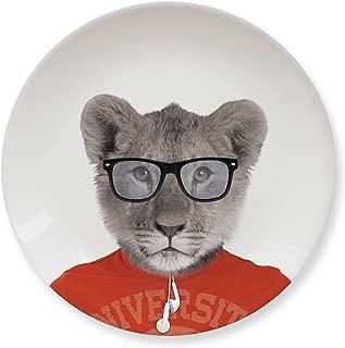 MUSTARD Ceramic Side Plate I Dishwasher safe I Dinnerware - Wild Dining Lion