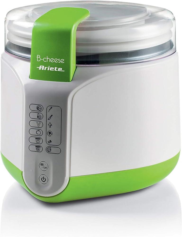 Ariete macchina per formaggio e yogurt 6 programmi pre impostati cestello removibile antiaderen 615 b-cheese ART000088NOC