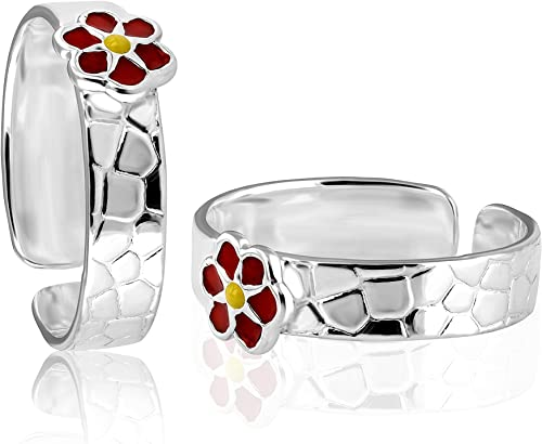 Women s 925 Sterling Silver Jewellery Fancy Design Toe Ring