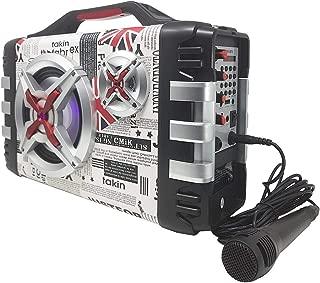 youxue Casse Bluetooth Potenti Portatili-Mini Subwoofer Audio Portatile Portatile Senza Fili Bluetooth Impermeabile Senza Fili Bluetooth con Scheda TF