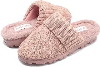 ONCAI Zapatillas de Invierno para Mujer-Pantuflas Mullidas para Mujer con Wspuma Viscoelástica-Pantuflass de Casa de Velló...