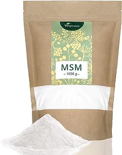 MSM en Polvo Vegavero® | EL ÚNICO 99% PURO | 1 kg | Sin Aditivos | Producto Premiado | Testado en Laboratorio | Antiinflamatorio Natural + Dolor Espalda + Articulaciones