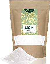 99.9% Pure MSM Vegavero® | 1 KG | NO ADDITIVES Such as Magnesium Stearate | Sulphur for Joints, Skin, Hair & Nails | *Awarded First Place 2019 | Vegan