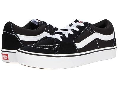 Vans ComfyCush SK8-Low ((Classic) Black/True White) Athletic Shoes