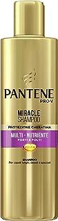 Pantene Pro-V Miracle Shampoo Protezione Cheratina Multi-Nutriente Forti & Folti per Capelli Lunghi, Deboli o Spezzati, 25...