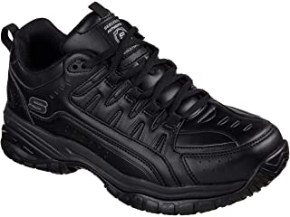 Skechers Work Relaxed Fit Soft Stride Thurles SR Slip Resistant Mens Sneakers