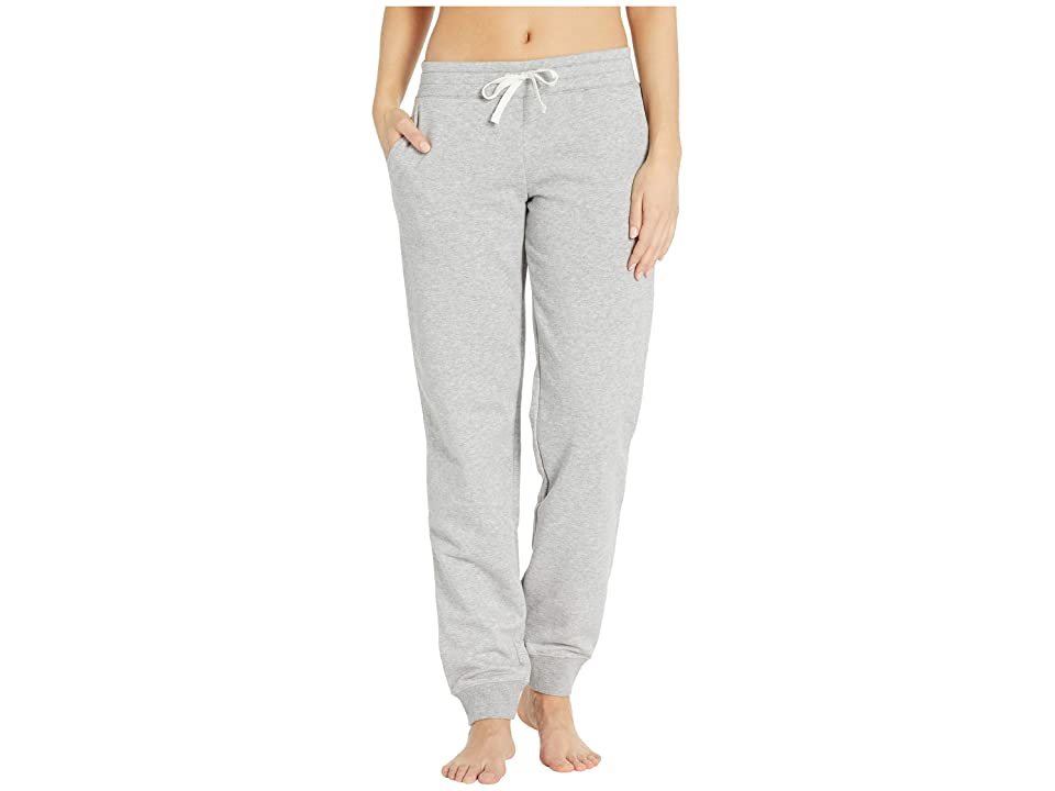 Reebok Training Elements French Terry Pants (Medium Grey Heather) Women's Casual Pants