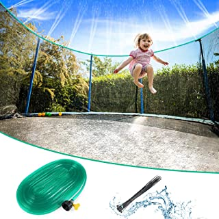 vanow Trampoline Sprinkler for Kids Water Toys - 39 FT Outdoor Spray Waterpark Hose Summer Water Games, Backyard Sprinkler...