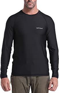 Men's UPF 50+ Sun Protection Outdoor Long Sleeve Performance Dry-fit T-Shirt