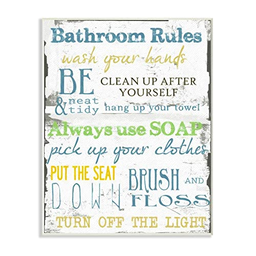 10 x 0.5 x 15 Proudly Made in USA Stupell Home D/écor Make It a Double Glam Wall Plaque Art
