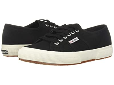 Superga 2750 Cotu (Black/Whte) Athletic Shoes
