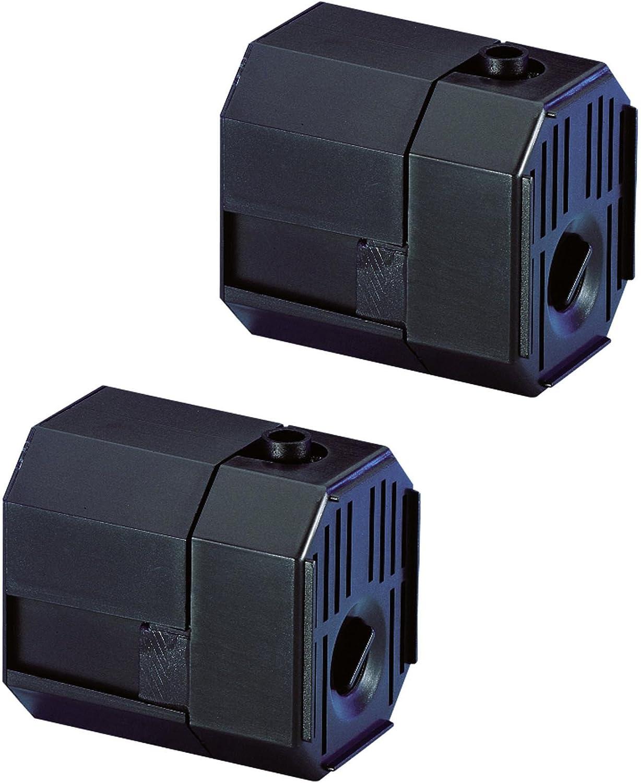 (2) PONDMASTER Model 1.5 Mag Drive 140 GPH Aquarium Garden Pond Pumps   02521