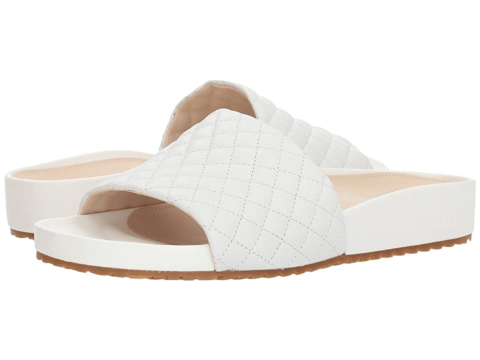 Cole Haan G.OS Pinch Montauk Slide (Optic White Quilted Leather) Women