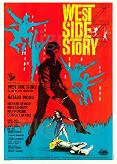 PostersAndCo TM West Side Story Film Rvfx-poster / reproductie 60 x 80 cm * d1 bioscoopposter
