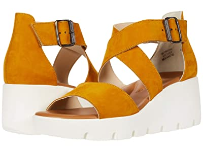 Paul Green Cassie Sandal (Curry Nubuck) Women