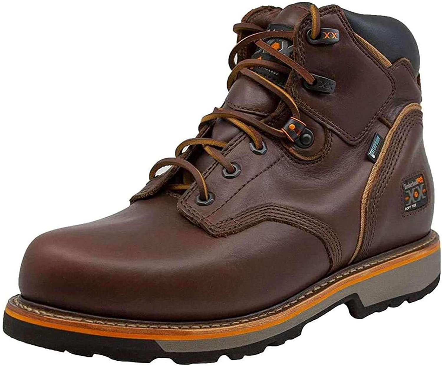 Timberland PRO Men's 6 Inch Pit Waterproof Boss Max 5 ☆ very popular 63% OFF Boot