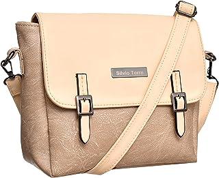 حقائب طويلة تمر بالجسم للنساء من سيلفيو توري - بيج