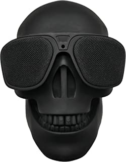 $39 » Skull Speaker Portable Bluetooth Speakers 8W Output Bass Stereo Compatible for Desktop PC/Laptop/Mobile Phone/MP3/MP4 Play...