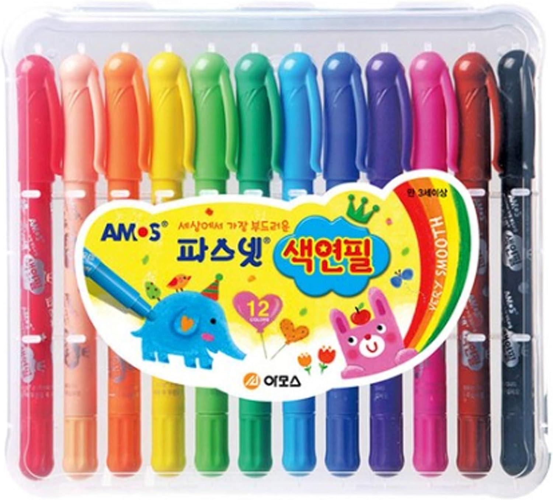 Amos Softest Pasnet Color Twista sale 12 Regular dealer Pencil Colors