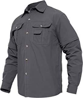 MAGCOMSEN Men's Quick Dry Breathable Convertible Long...