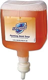 Safeguard 47435 Antibacterial Foam Hand Soap, Pleasant Scent, 1200mL Bottle (Case of 4)