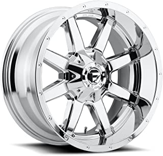 FUEL Maverick P -Chrome Wheel with Painted (24 x 14. inches /8 x 170 mm, -75 mm Offset)
