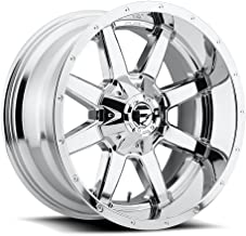 FUEL Maverick P -Chrome Wheel with Painted (20 x 14. inches /8 x 170 mm, -76 mm Offset)