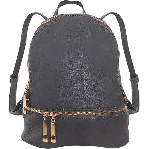 61aa181f24 Humble Chic Vegan Leather Backpack Purse Small Fashion Travel School Bag  Bookbag