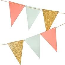 triangle paper garland