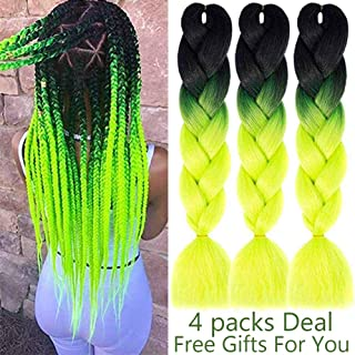 Best green and yellow hair extensions Reviews